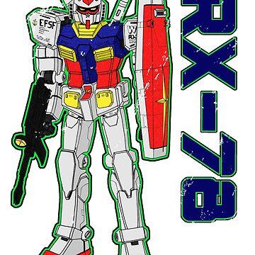 RX78 by Tsudo