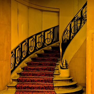 DECO STAIRCASE IN HOTEL PARIS by tomb42