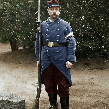 French soldier, August 1914 by cassowaryprods