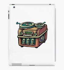 Radio tape recorder iPad Case/Skin