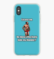 Tobias The Never nude iPhone Case