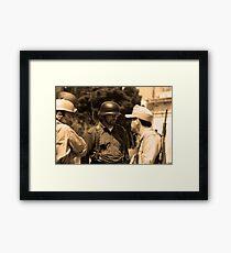 1942- Military Mtarfa Framed Print