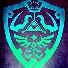 Zelda Schild Poster von scardesign11