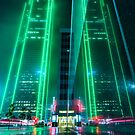 Dallas Fog Reflection by josephhaubert