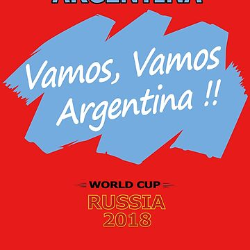 Argentina Slogan World Cup 2018 by denip
