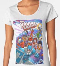 The Bovine League #0 Premium Scoop T-Shirt