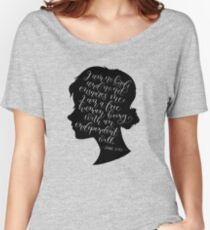Jane Eyre Quote - Charlotte Bronte Women's Relaxed Fit T-Shirt