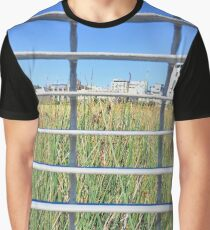 Grass Through The Grate Graphic T-Shirt