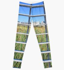Grass Through The Grate Leggings