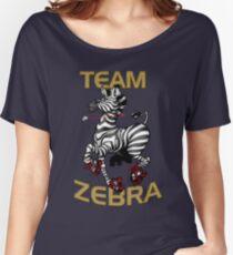 Team Zebra Women's Relaxed Fit T-Shirt