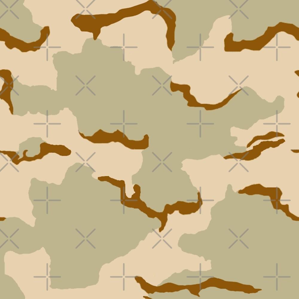 US 3 Colour/Color Desert Camouflage\