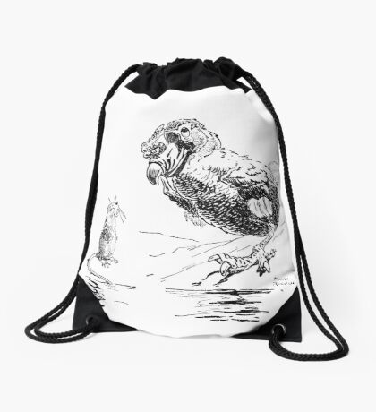 The Mouse and the Lory Drawstring Bag