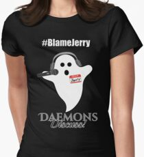 Blame Jerry Women's Fitted T-Shirt