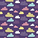 Colorful Cloud Pattern by Twosided