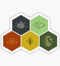 Catan Tiles Sticker