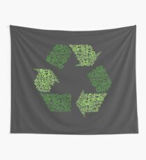 Recycling Wall Tapestry