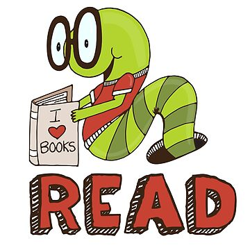 Bookworms love to read! by carriestephens
