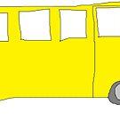 School Bus by Gabe-Draws