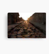 Road to Pompei Canvas Print