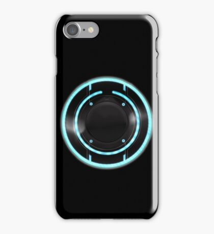 Tron - Sam's ID Disc iPhone Case/Skin