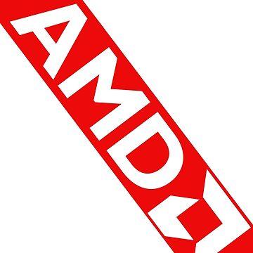 AMD Stripe Banner by BHawk-Graphics