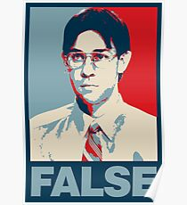 FALSE. Poster