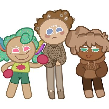 CC Cookie Run - Comedy Trio by asparagus-man