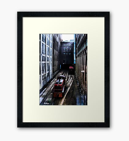 Walking Speed Only Framed Print