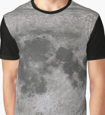 Map of the Moon -8K Graphic T-Shirt