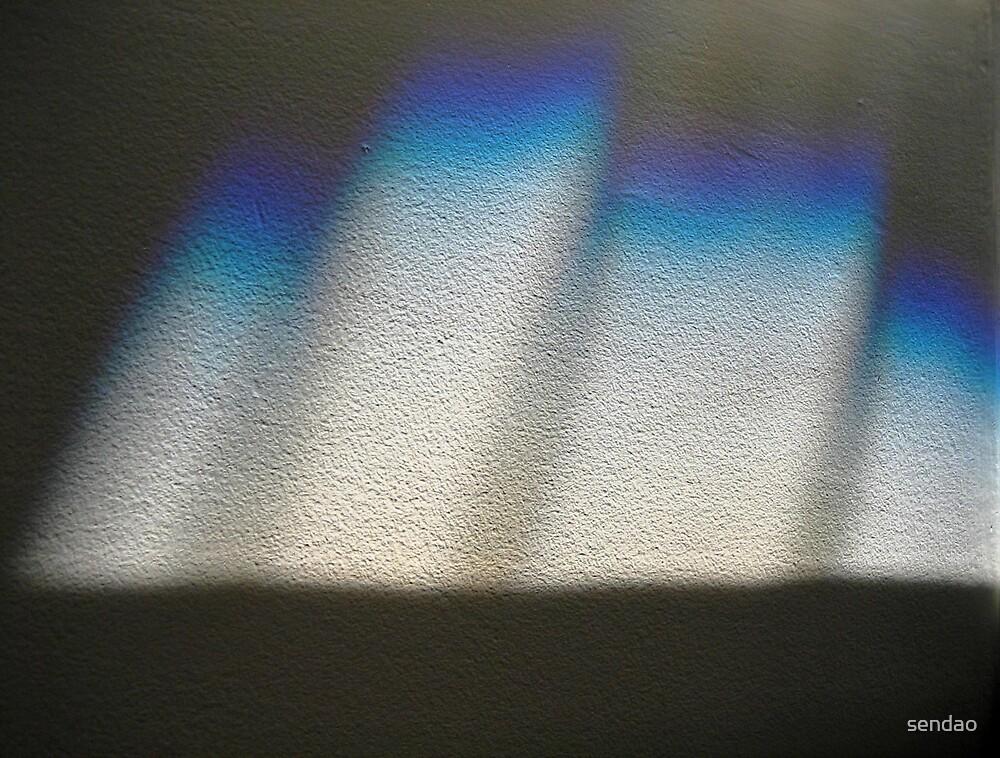 Blue castle (reflection)...! by sendao