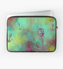 Bacteriophage Invasion  Laptop Sleeve