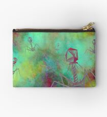 Bacteriophage Invasion  Studio Pouch