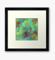 Bacteriophage Invasion  Framed Print