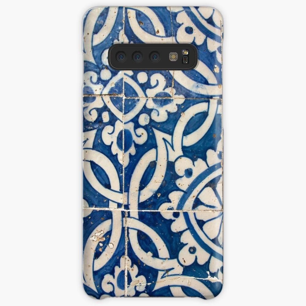 Vintage portuguese azulejo Case & Skin for Samsung Galaxy