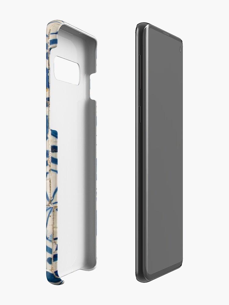 Alternate view of Vintage portuguese azulejo Case & Skin for Samsung Galaxy
