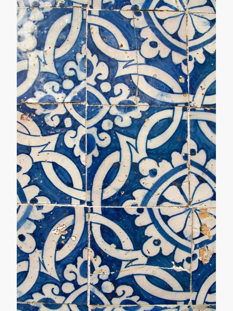 Vintage portuguese azulejo by gavila
