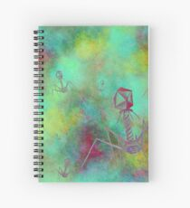 Bacteriophage Invasion  Spiral Notebook