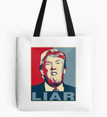 Trump Liar Poster T-shirt Tote Bag