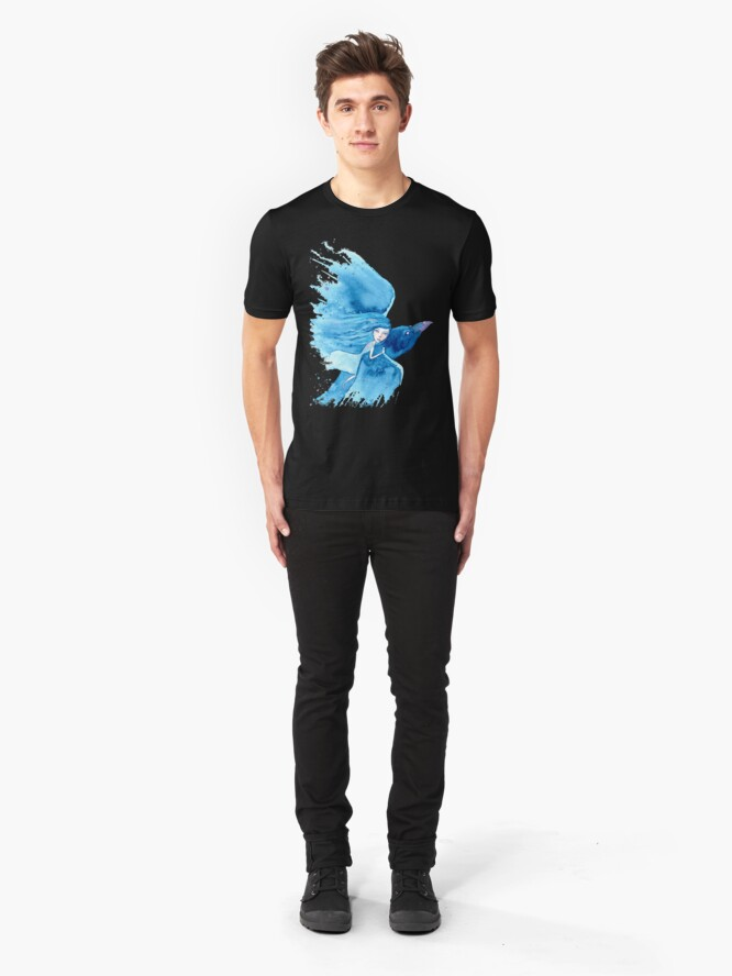Alternate view of She Had A Dream Slim Fit T-Shirt