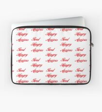 Coca Cola Tired Hungry Anxious Aesthetic Laptop Sleeve