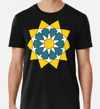 Islamic 10 Pointed Star  Premium T-Shirt
