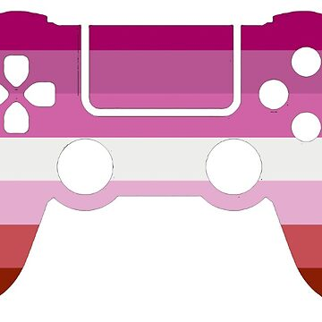 Gaymer - Lesbian Pride PS4 by ay-zup