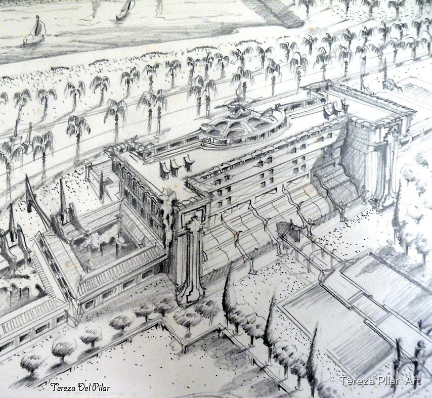 ...Hotel project for the alcantara docks in Lisbon by terezadelpilar ~ art & architecture