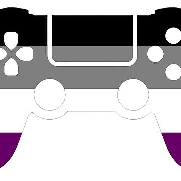 Gaymer - Asexual Pride PS4 by ay-zup
