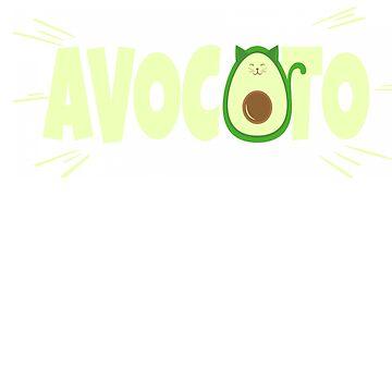 Avocado Cat Lovers Avocato by MyLittleMutant