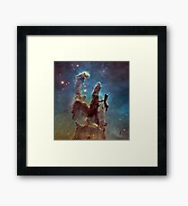 Eagle Nebula - The Pillars of Creation Framed Print