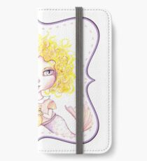 Just a Baby Mermaid and Her Merkitty - Blonde Version iPhone Wallet/Case/Skin
