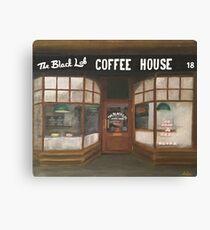 THE BLACK LAB COFFEE HOUSE Canvas Print