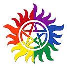 SPN Pride: Gay Pride by violue