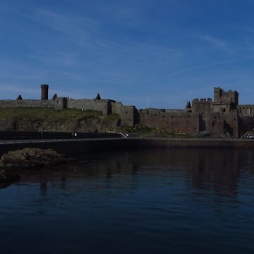 Peel Castle, Isle of Man by wiggyofipswich